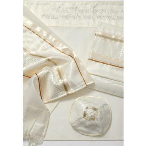 Galilee Silks Golden Tallit for men