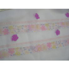 Load image into Gallery viewer, Pink Flowered Tallit for Girl, Bat Mitzvah Tallit