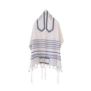 Peace Tallit for men, Bar Mitzvah tallit, wedding tallit, wool tallit from Israel, custom tallit by Galilee Silks