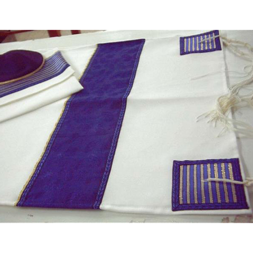 Wool Tallit Made In Israel For Jewish Men