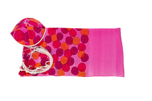 Load image into Gallery viewer, Rose Pink Flowered Tallit For Woman - Galilee Silks