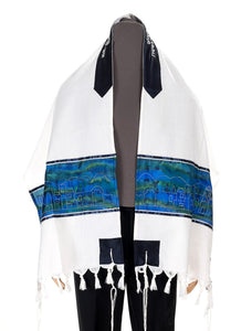 Wool tallit, bar mitzvah tallit from Israel by Galilee Silks Tallit shop