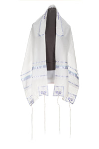 Four Mothers Tallit in Lilac- feminine tallit, girls tallit, womens tallit, Bat Mitzvah Tallit by Galilee Silks