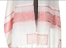 Load image into Gallery viewer, Pink Magen David Tallit for Girls