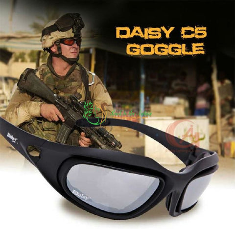 Daisy C5 Military Sunglasses with 4 Lens Kit | Back To The Nature