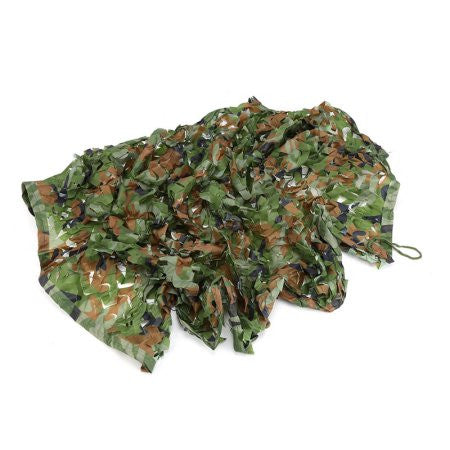 "3'3"" x 6'5"" Outdoor Woodland Camouflage Netting"