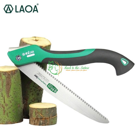 LAOA 10 inch 7T/9T/12T Wood Folding Camping Saw | Back To The Nature