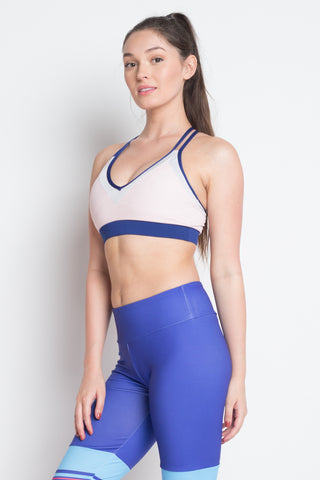 Two Tone Quest Sports Bra | Back To The Nature