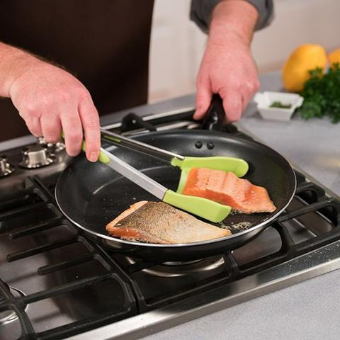 2-in-1 Spatula Tong - The Ultimate Cooking Buddy!