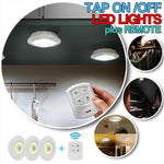 Tap Led Lights with Remote