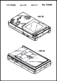 Game Boy Patent Poster