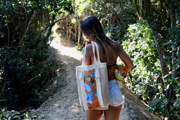 Flor da Mata Brazil⎜Photo Tote Bag Moçamba