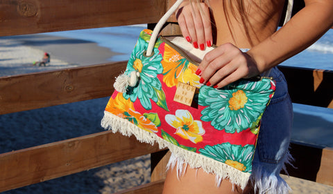 Flor da Mata shoulder bag Sambaqui
