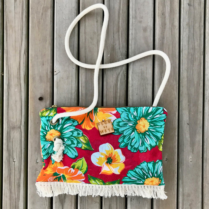 Flor da Mata Brazil⎜Custom Shoulder bag Sambaqui