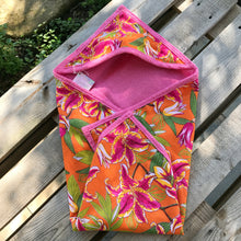 CUSTOM ⎟Baby hooded towel Cacupé - Flor da Mata - Ethical Brazilian Brand