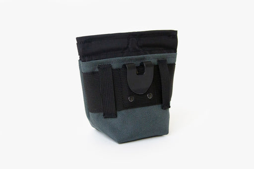 Alamo Dog Treat Pouch / Charcoal