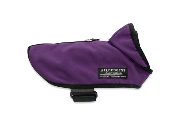 All Weather Dog Jacket / Plum – outerwear - 1