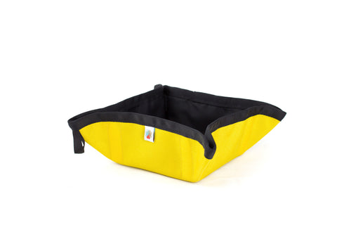 Funston To-Go Dog Bowl / Yellow