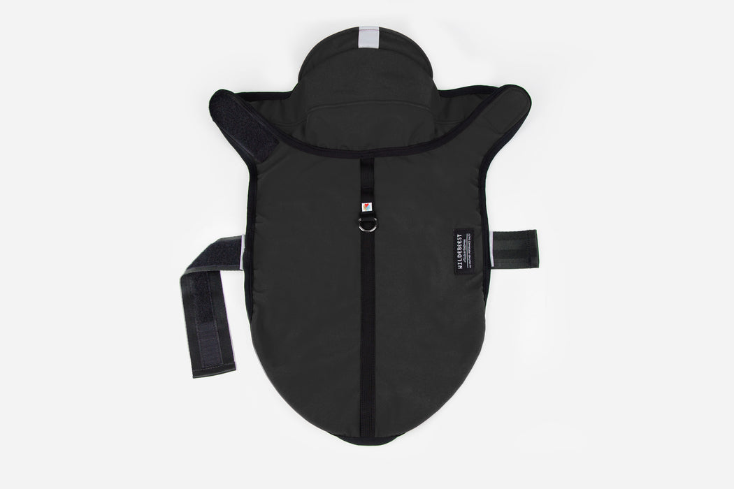 All Weather Dog Jacket / Black