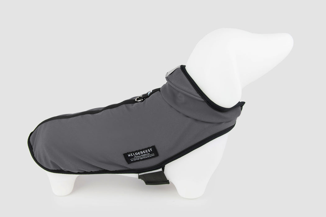 All Weather Dog Jacket / Charcoal