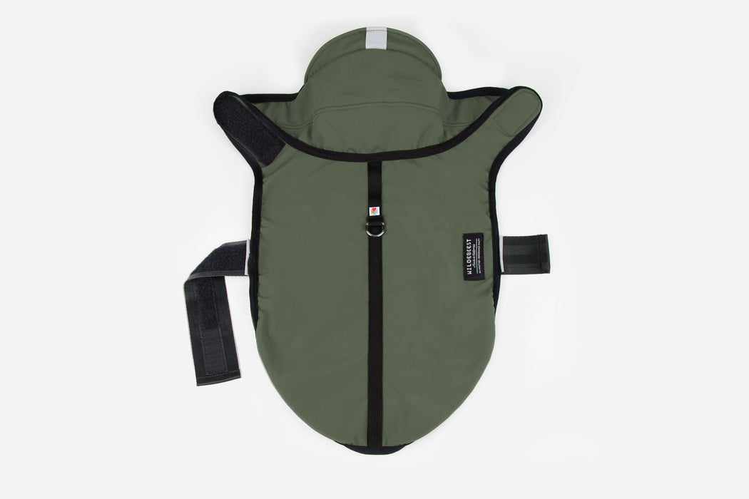 All Weather Dog Jacket / Olive