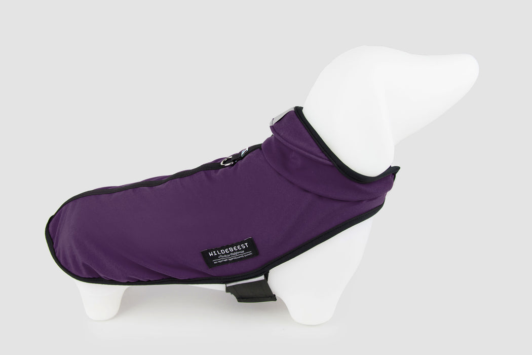 All Weather Dog Jacket / Plum