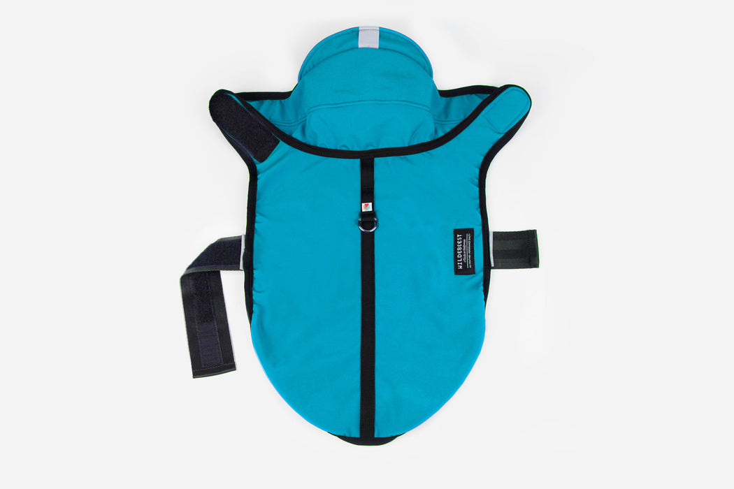 All Weather Dog Jacket / Turquoise