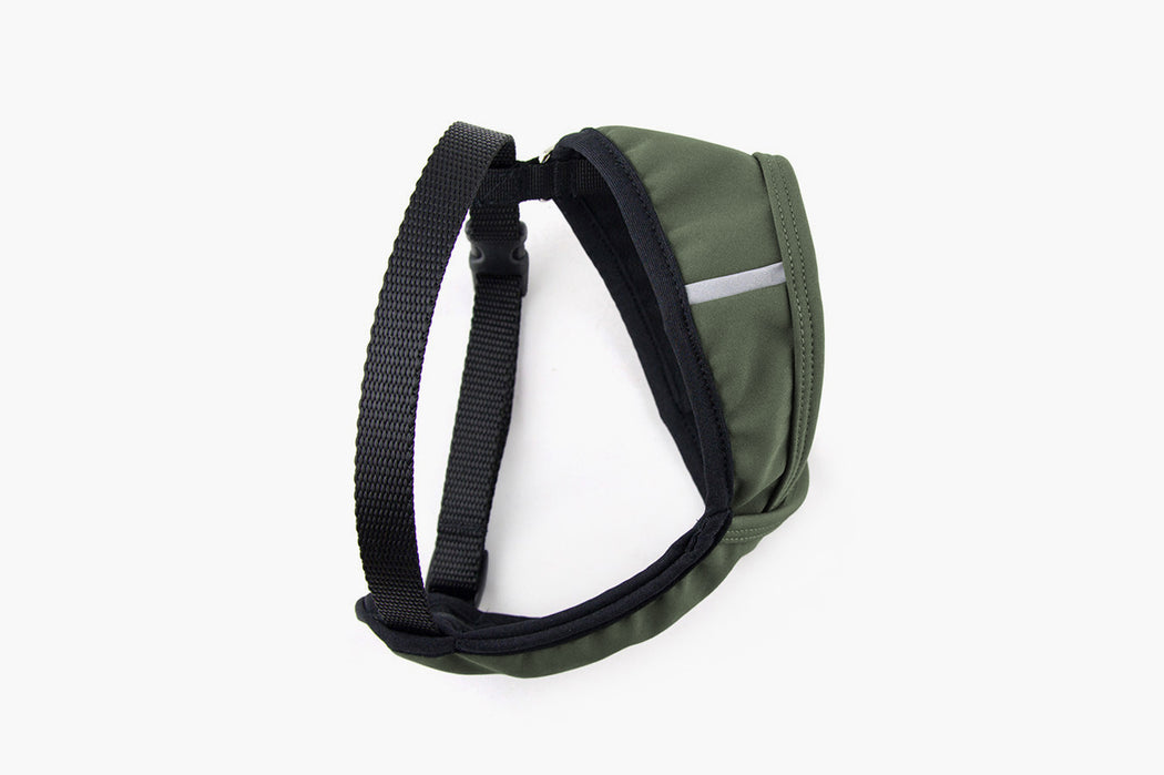 Laguna Soft Fit Dog Harness / Olive - Wildebeest