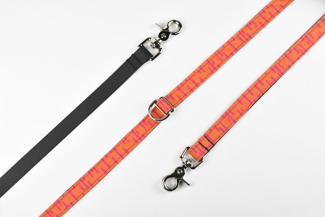 Pacifica Hands-Free Dog Leash / Coral - Wildebeest