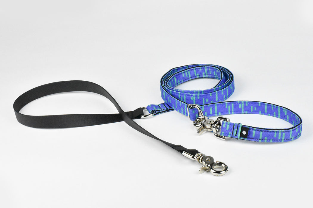 Pacifica Hands-Free Dog Leash / Indigo - Wildebeest