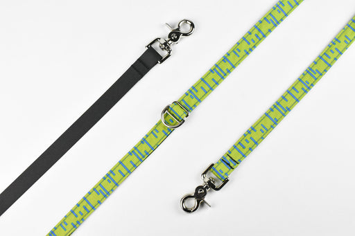 Pacifica Hands-Free Dog Leash / Lime - Wildebeest
