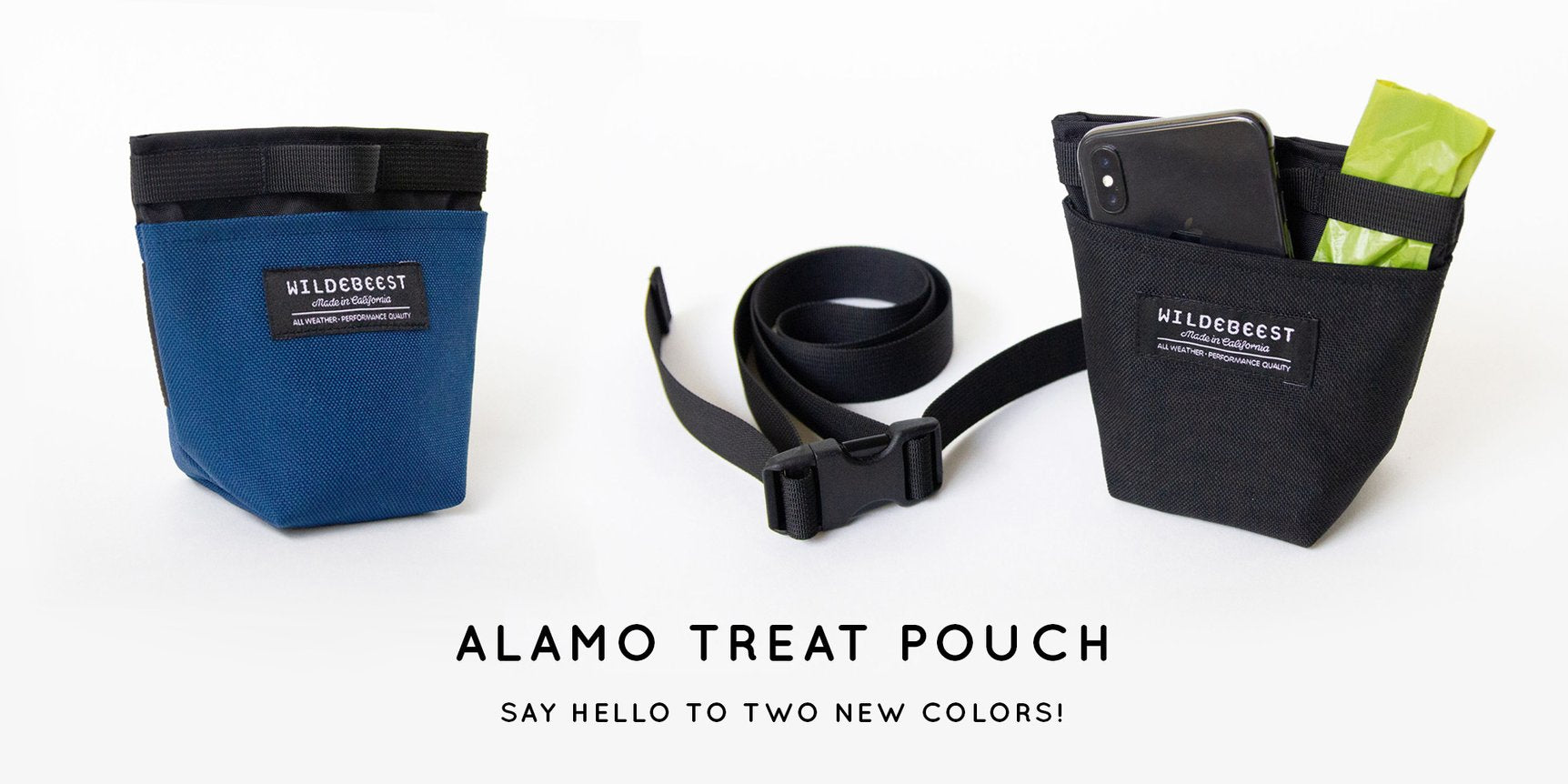 alamo treat pouch