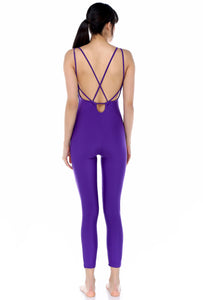 Catsuit unitard (purple)