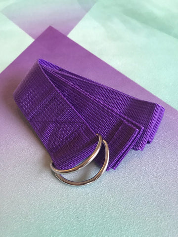 Yoga belt (purple)