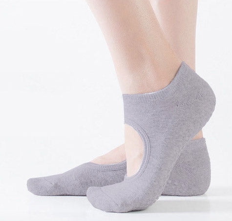 Spring yoga socks