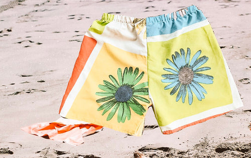 Puku Pants - Sunflower Multi