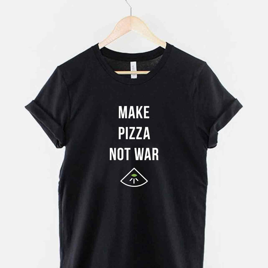 Santa T-shirt - MAKE PIZZA NOT WAR