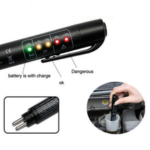 Load image into Gallery viewer, Brake Fluid Tester LED Moisture Water Compact Tool Test Indicator Pen