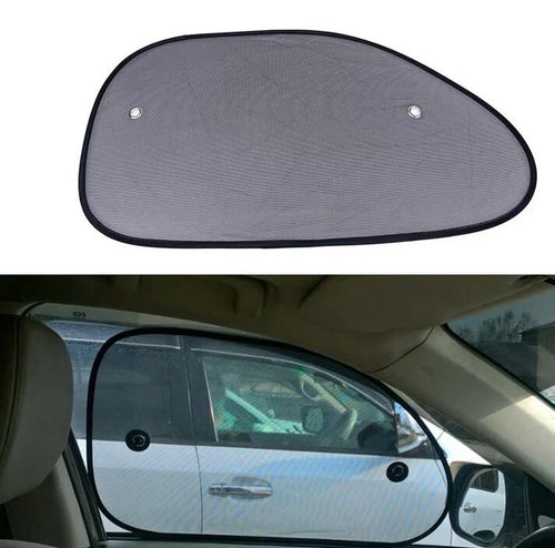 2pcs Sticky Car Sun Shade