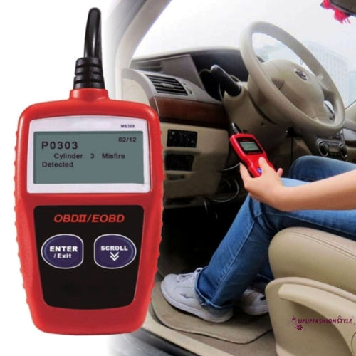 OBDII EOBD Scanner Car Code Reader
