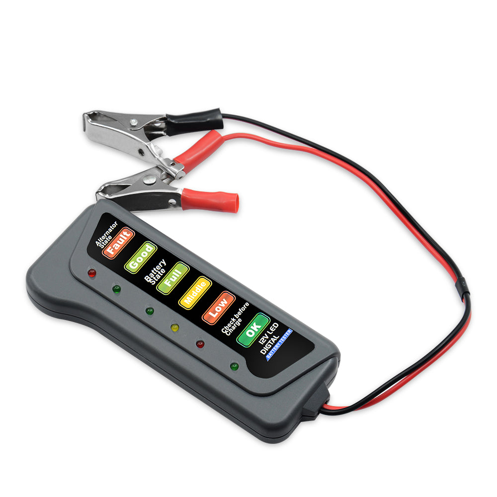 12V Automotive Alternator and  Battery Tester