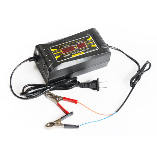 Bosca SON-1206D Smart Fast Charger 6A 12V Car, Motorcycle Battery Charger for Lead Acid Batteries