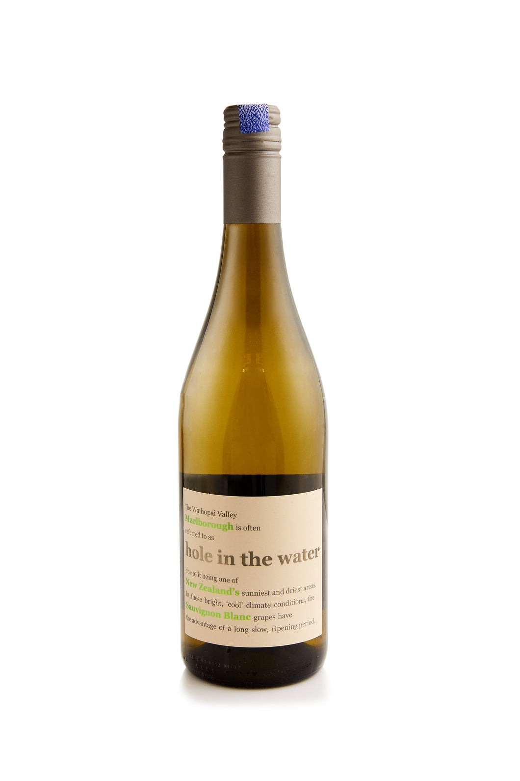 Sauvignon Blanc, Hole in the Water, Marlborough, New Zealand