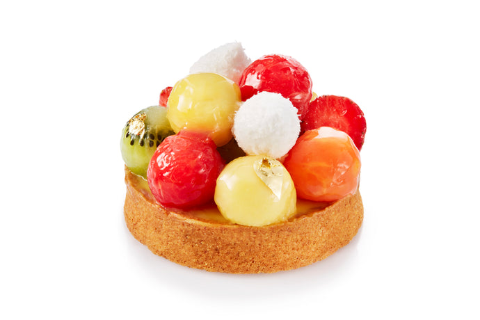 Tropical Fruit Tart