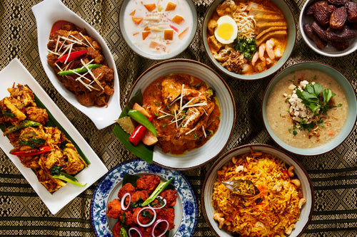 Bunga Raya Set Menu (RM 128 per person; min. 3hrs pre-order)