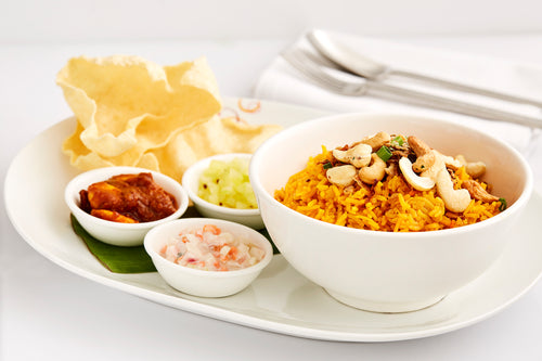 Hyderabad Lamb Briyani