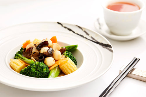 Lo Hon-style Braised Vegetables (V)