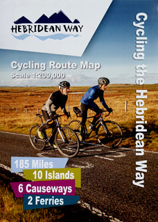 Offical Hebridean Way Cycling Route Map