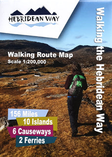 Official Hebridean Way Walking Map