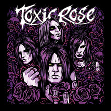 Load image into Gallery viewer, ToxicRose - s/t (Mini-LP, Purple)
